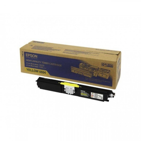 Тонер касета Epson Aculaser C1600/ CX16 Yellow - C13S050554