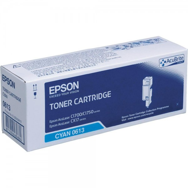 Зареждане на тонер касета Epson AL-C1700/C1750/CX17 Cyan - C13S050613