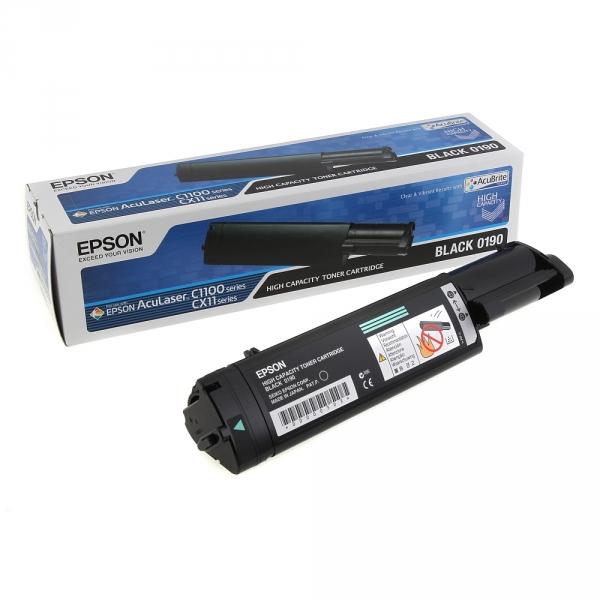 Зареждане на тонер касета Epson C1100 Black- C13S050190