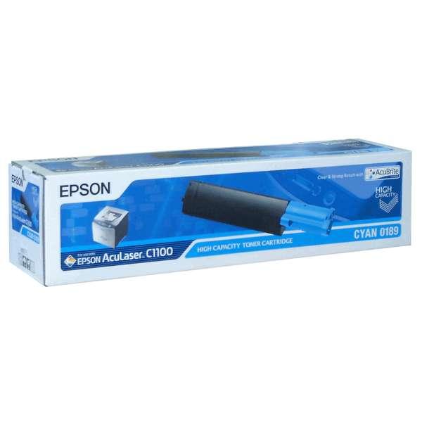 Тонер касета Epson  C1100 Cyan -  C13S050189