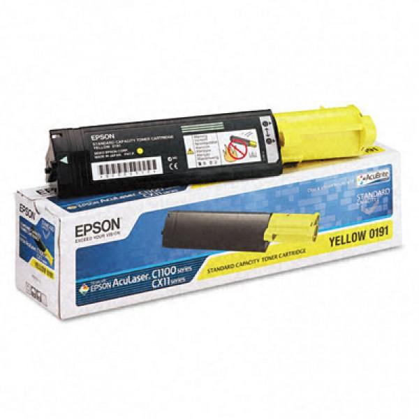 Тонер касета Epson C1100 Yellow- C13S050187