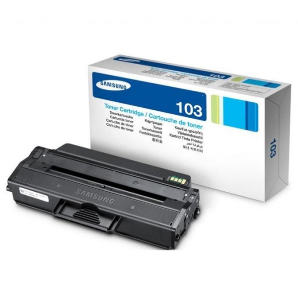 Зареждане на тонер касета Samsung MLT-D103L