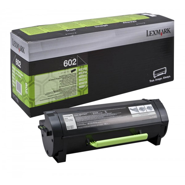 Зареждане на тонер касета Lexmark 60F2000