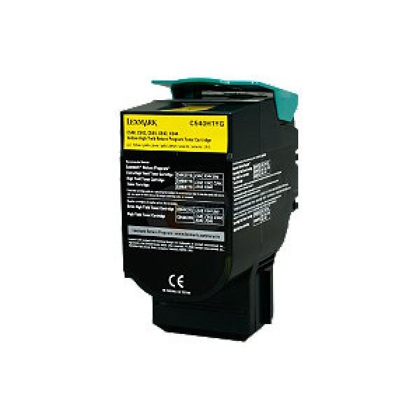 Зареждане на тонер касета Lexmark C540/C543/C544/X543/X544 -  C540H1YG