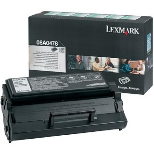 Зареждане на тонер касета Lexmark E320 / E322- 08А0478