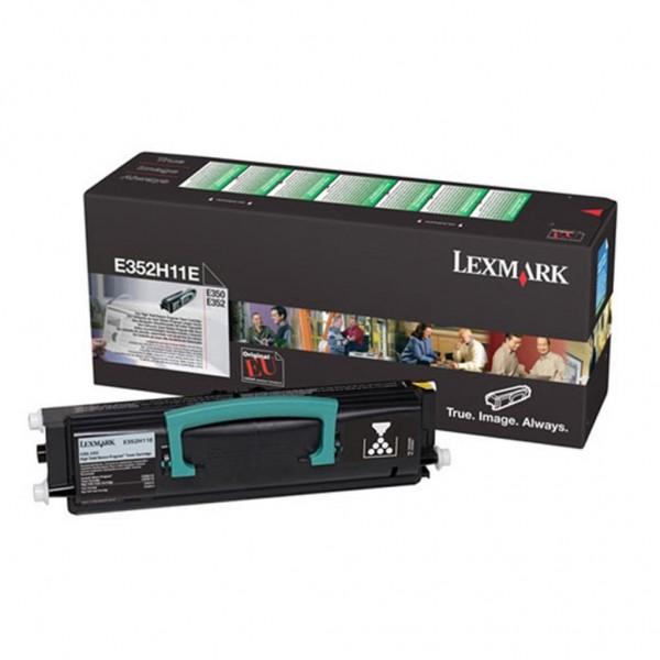 Зареждане на тонер касета Lexmark E350 / E352  - E352H11E