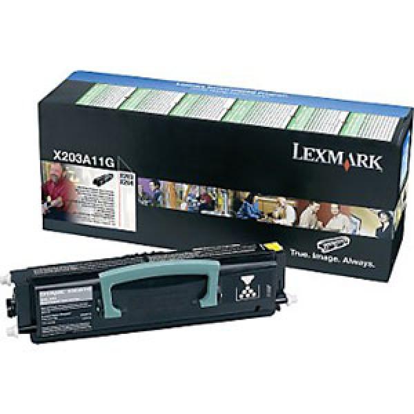Зареждане на тонер касета Lexmark for X203n/X204n  - X203A11G