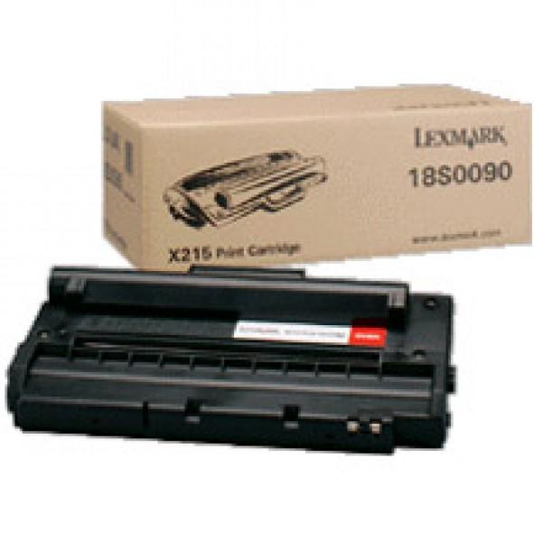 Зареждане на тонер касета Lexmark X215  - 18S0090
