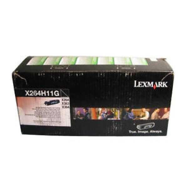 Тонер касета Lexmark X264/363/364  - X264A21G