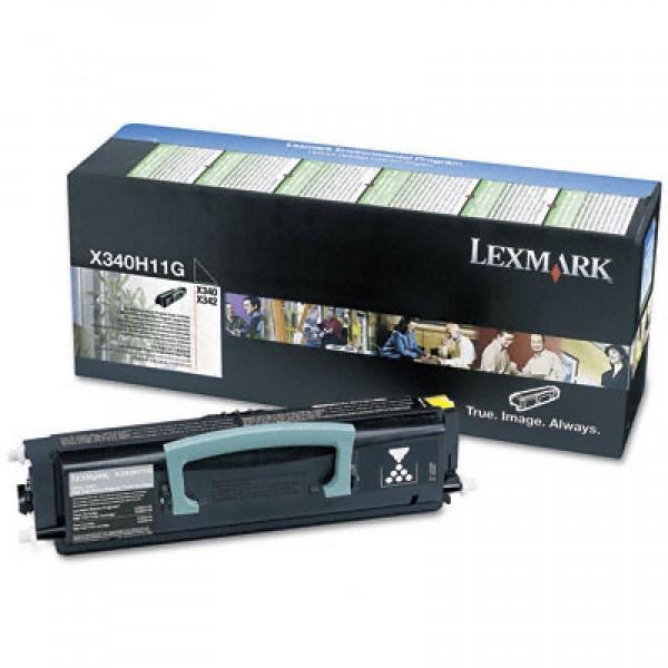 Зареждане на тонер касета Lexmark X342N  - X340H11G