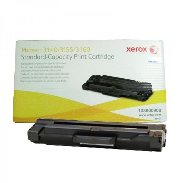 Зареждане на тонер касета  Xerox Phaser 3140/55/60 Stnd-Cap - 108R00908