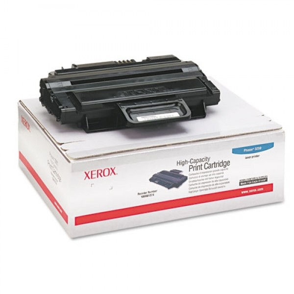 Зареждане на тонер касета   Xerox Phaser 3250 Hi-Cap-106R01374