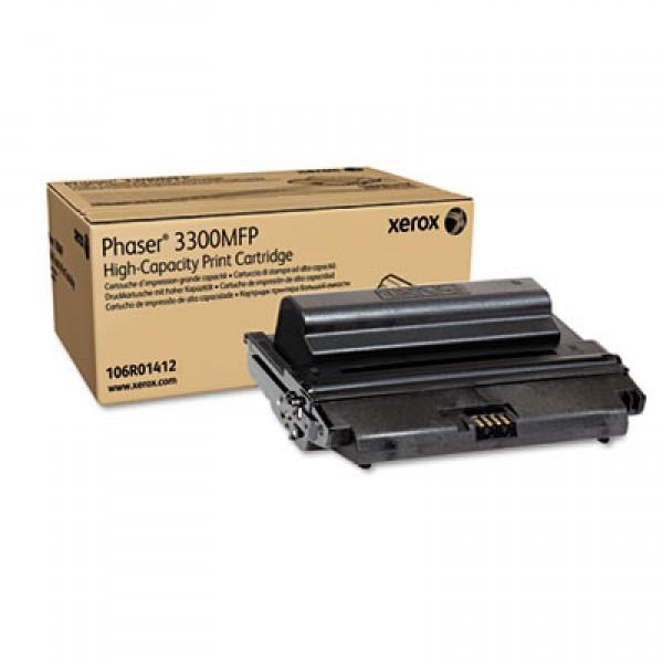 Зареждане на тонер касета  Xerox Phaser 3300MFP/X