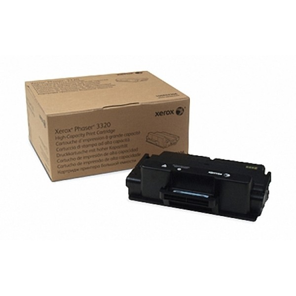 Зареждане на тонер касета  Xerox Phaser 3320 High Cap