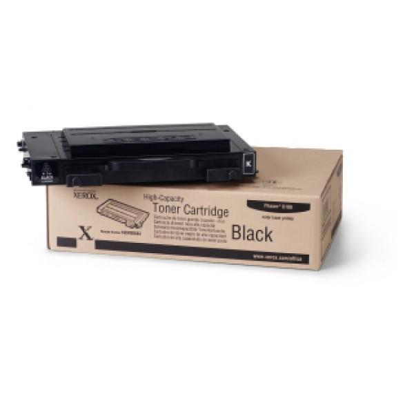 Зареждане на тонер касета  Xerox Phaser 6100 High Capacity Black - 106R00684