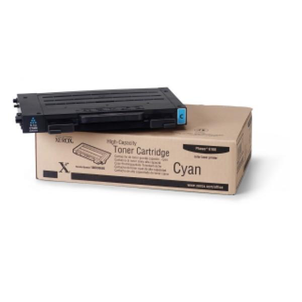 Зареждане на тонер касета  Xerox Phaser 6100 High Capacity Cyan - 106R00680