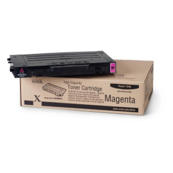 Зареждане на тонер касета  Xerox Phaser 6100 High Capacity Magenta  - 106R00681