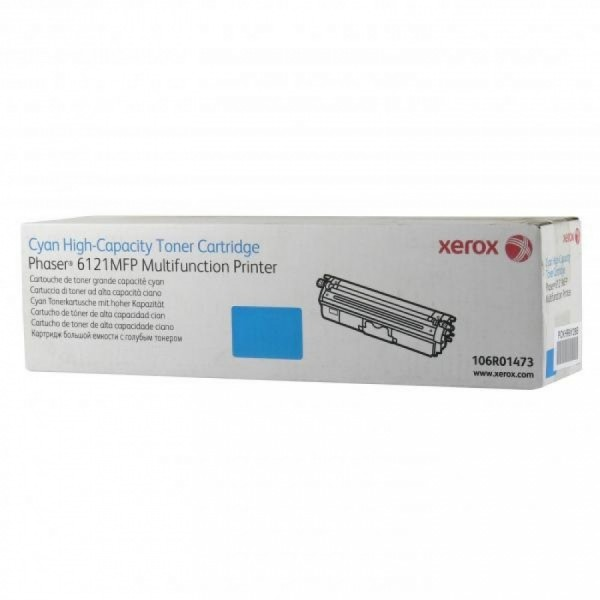Зареждане на тонер касета  Xerox Phaser 6121MFP High Capacity Cyan - 106R01473