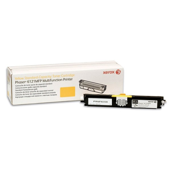 Зареждане на тонер касета  Xerox Phaser 6121MFP High Capacity Yellow - 106R01475