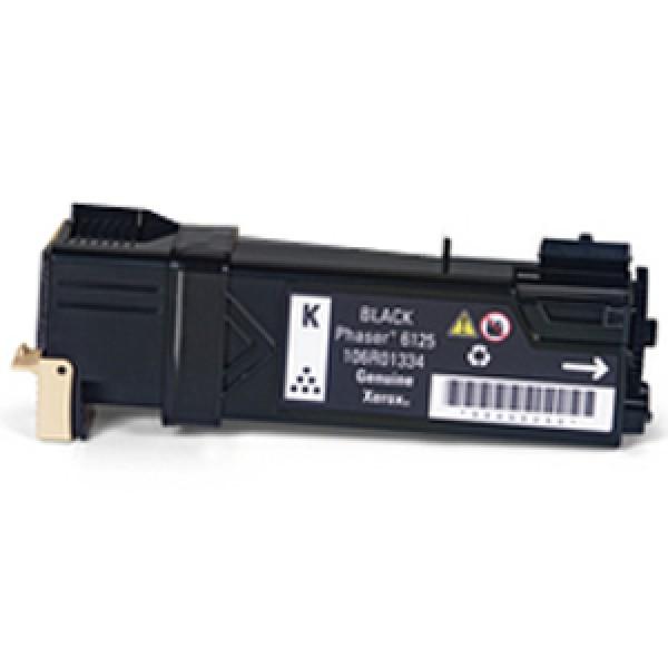Зареждане на тонер касета  Xerox Phaser 6125N Black  - 106R01338