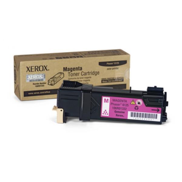 Зареждане на тонер касета  Xerox Phaser 6125N Magenta  -  106R01336