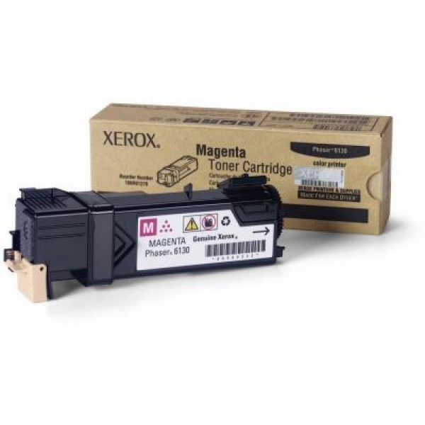 Зареждане на тонер касета  Xerox Phaser 6130 Magenta -  106R01283