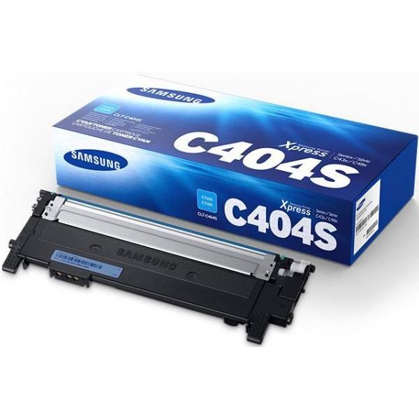 Зареждане на тонер касета Samsung CLT-C404S Cyan