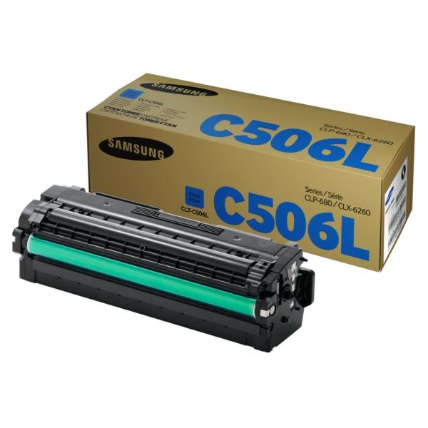 Зареждане на тонер касета   Samsung CLT-C506L H-Yield Cyan