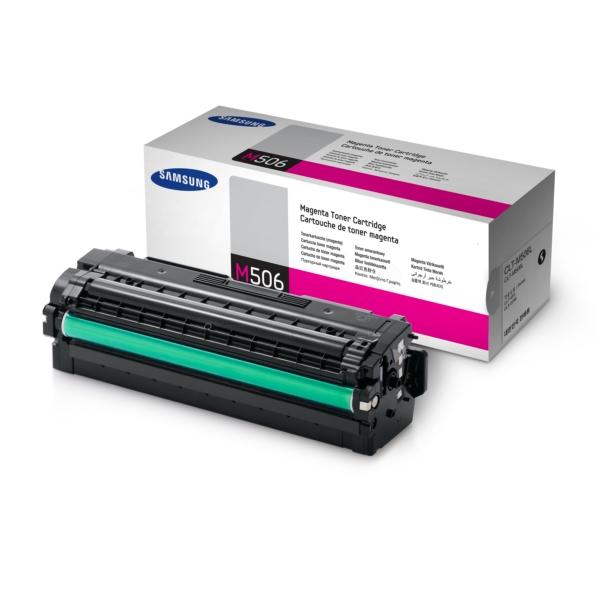 Зареждане на тонер касета   Samsung CLT-M506L H-Yield Magenta