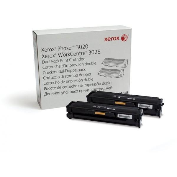 Зареждане на тонер касета  Xerox Phaser 3020 / WC 3025 Standard-Cap./ 106R02773